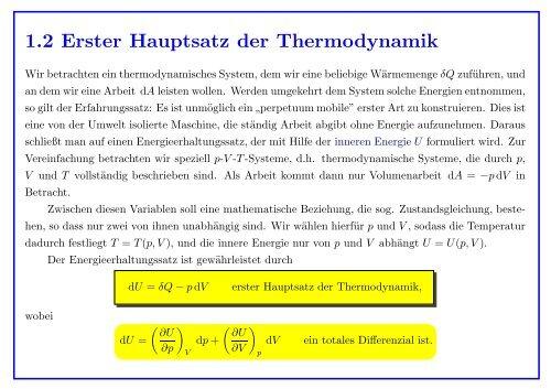 12 Erster Hauptsatz Der Thermodynamik