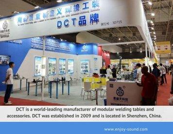 DCT 3D welding table/ modular welding table catalog