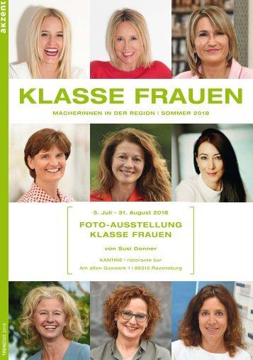 Klasse Frauen aus Bodensee-Oberschwaben 2018