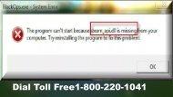 Fix Windows Steam_api.dll Missing Error 1-800-220-1041 For Help