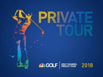 Golf Channel Private Tour 2018