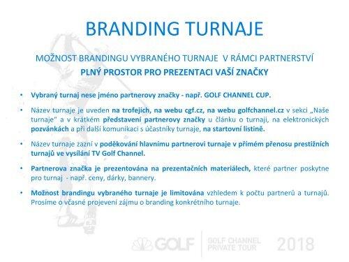 Golf Channel Private Tour 2018
