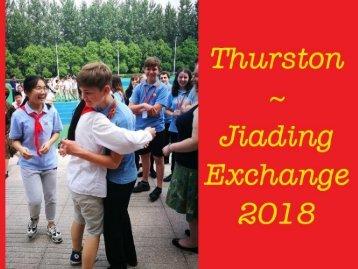 Thurston Jiading 2018 Exchange