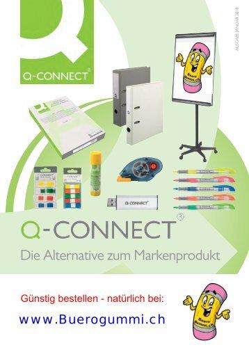 Q-Connect - Die Büromarke von Buerogummi.ch