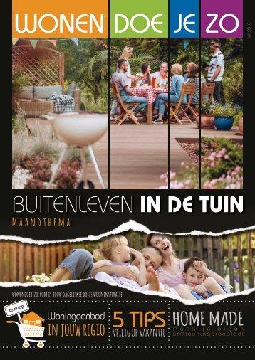 WonenDoeJeZo in Midden Nederland, #juli 2018