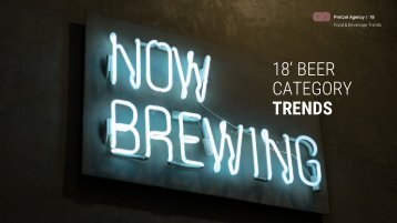 2018 Global Beer Trends