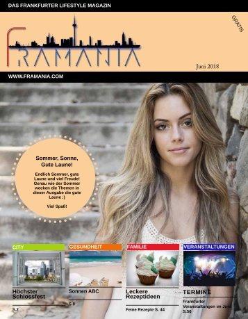 Framania Magazin Ausgabe Juni 2018