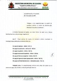 Lei Municipal n° 614-2018