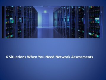 Network Assessment Company Bay Area
