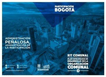 Kit Comunal. Plan Estratégico de Desarrollo de la Organización Comunal1