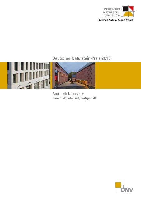 Deutscher Naturstein-Preis Dokumentation 2018