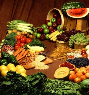 L'alimentazione sana