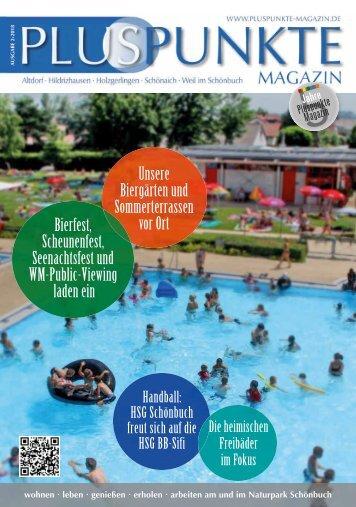 Pluspunkte-Magazin Juni 2018