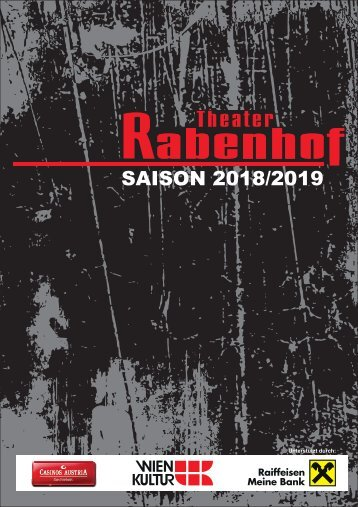Rabenhof Theater - Saison 2018 / 19