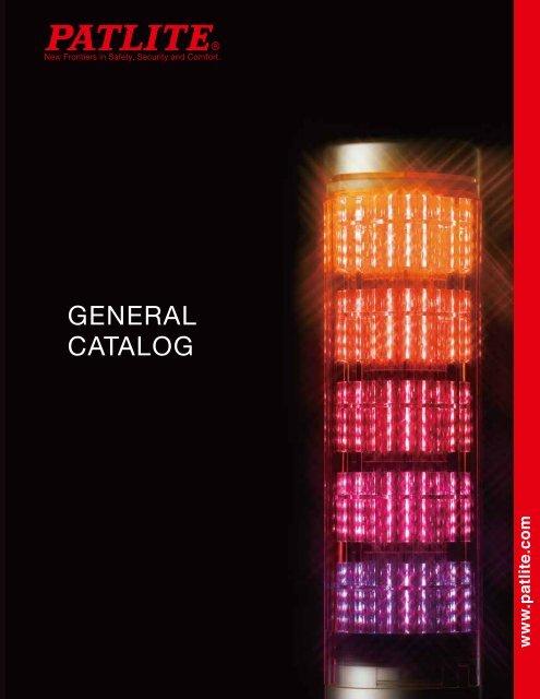 Patlite MES-102T Super Slim Stack Light Tower 24VDC Red LED