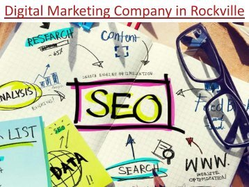 Digital Marketing Company in Rockville
