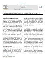 Damjanovic D et al. Resuscitation 2018