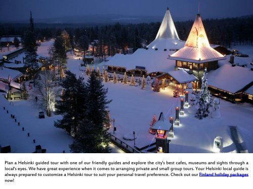 Finland Holiday Packages