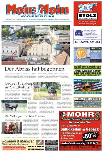 MoinMoin Schleswig 25 2018