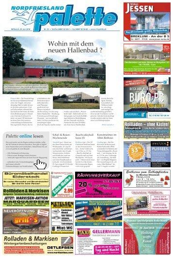 Nordfriesland Palette 25 2018