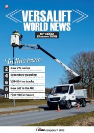 Versalift World News (18th edition)