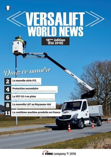 Versalift World News (18ème édition)