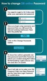 Reset your SBI Net Banking Password
