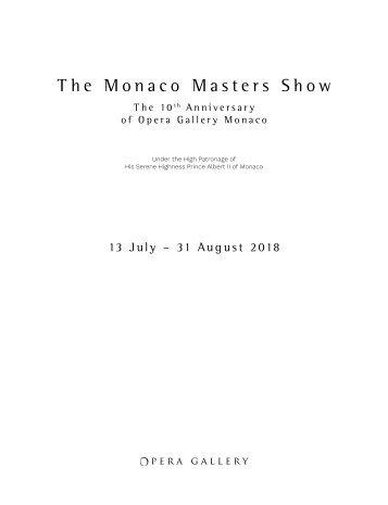 The Monaco Masters Show - 10th Anniversary