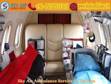 Receive Sky Air Ambulance at an Economical Booking Price in Kolkata