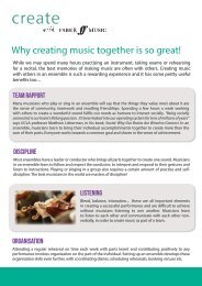 Why creating music together is so great!