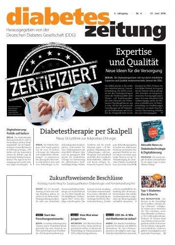 Diabetes Zeitung 06/18
