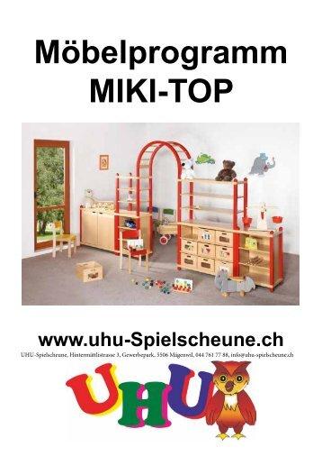 Möbelprgramm Miki TOP SET