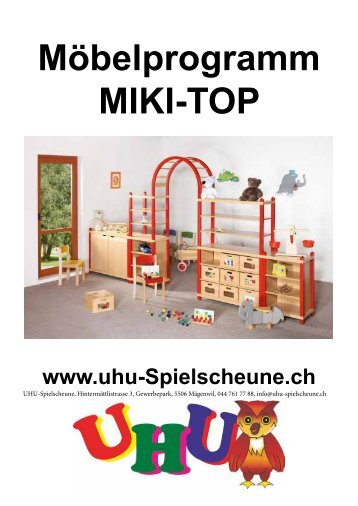 Möbelprgramm Miki TOP SET