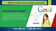 Gmail Sign Up/Register, Dial 1-800-209-5399