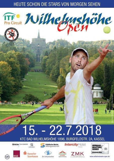 Wilhelmshöhe Open - Turnier-Magazin 2018
