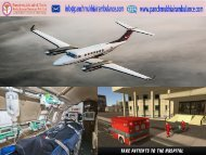 Lowest Price Air Ambulance Service in Bagdogra with ICU Setups