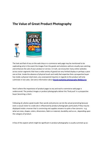 Brand marketing photography Melbourne