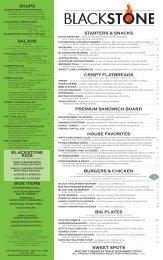 salads - Blackstone