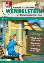 Wendelstein - Juli 2018