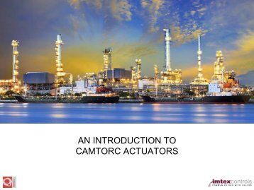 Introduction to Camtorc Actuators