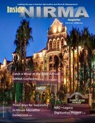 Inside NIRMA Magazine Summer 2018 - FINAL