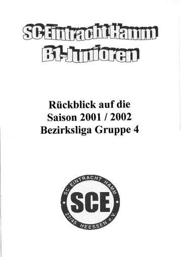 SCE Hamm Saison 2001-2002