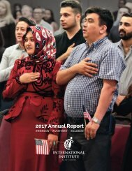 International Institue of St. Louis - 2017 Annual Report