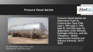 Pressure Vessel Market expected to reach at $8,529 million by 2023