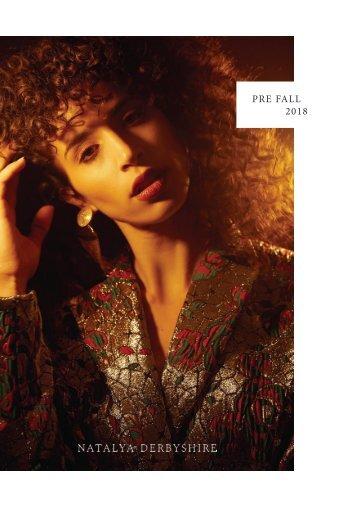 Natalya Derbyshire Pre Fall 2018 Lookbook