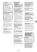 Sony KDL-40R480B - KDL-40R480B Informazioni sulla staffa per montaggio a parete Finlandese - Page 3