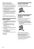 Sony CDX-G1200U - CDX-G1200U Consignes d'utilisation Suédois - Page 6