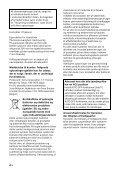 Sony CDX-G1200U - CDX-G1200U Consignes d'utilisation Danois - Page 2