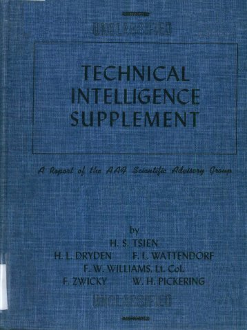 technical intelligence supplement - Government Attic