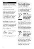 Sony STR-DA2800ES - STR-DA2800ES Mode d'emploi Bosniaque - Page 2
